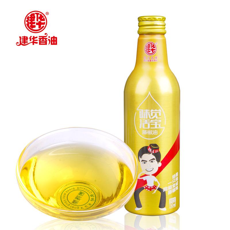 建华藤椒油360ml铝瓶装洪雅特产青花椒油 凉拌调味品